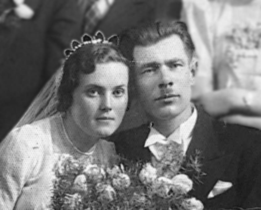 Janina Kielienė and Arsenijus Kiela